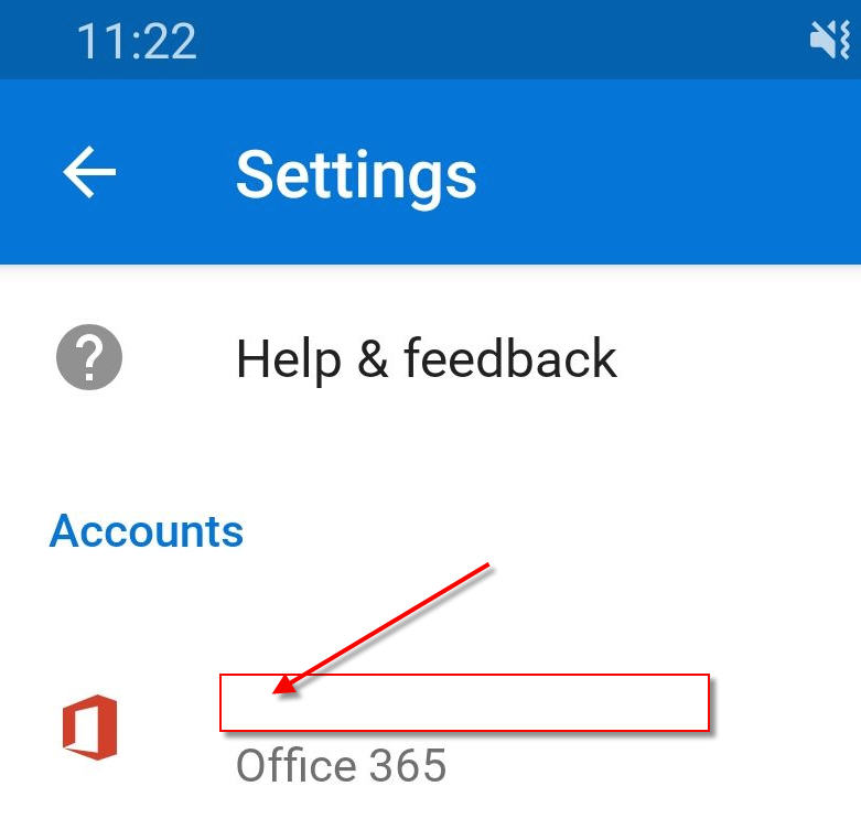 account selection for automatic replies