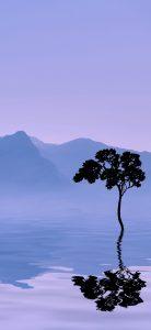 Xiaomi redmi note 8 nature wallpaper mountain tree